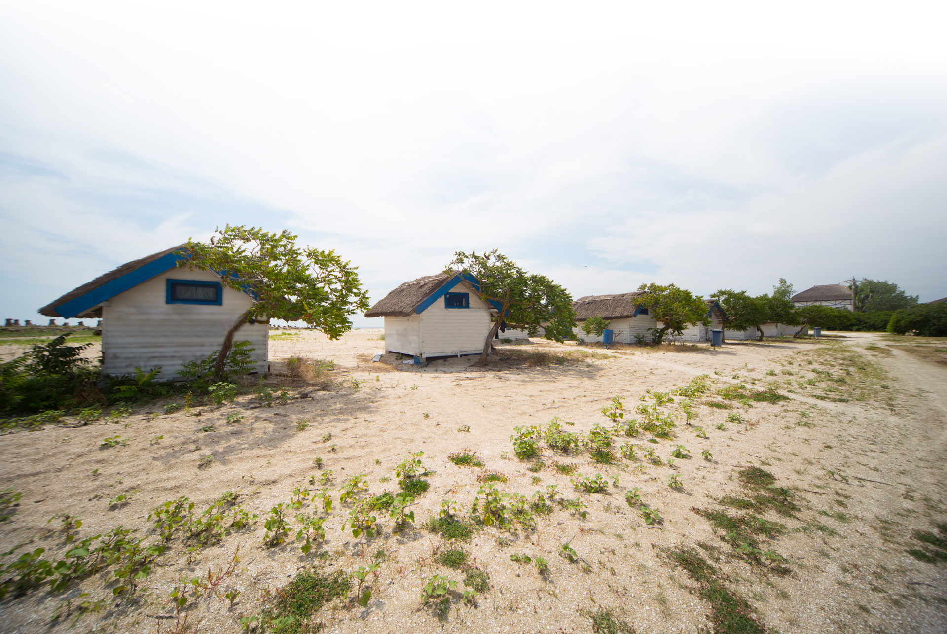 beachfront bungallows at gura portitei